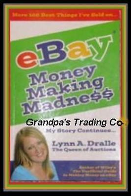 EBAY Book Money Making Madness Lynne Dralle Queen of Auctions PB Guide to Sell