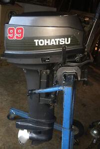Moteur Tohatsu 9.9 pied cour à échanger pour long