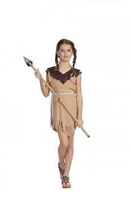 NATIVE AMERICAN POCAHONTAS INDIAN GIRL KIDS PRINCESS CHILD COSTUME DRESS 29142 (Native Girl Costume)