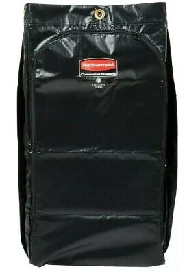 Rubbermaid 34 Gal Janitorial Cleaning Cart Bag Executive High Capacity Carts