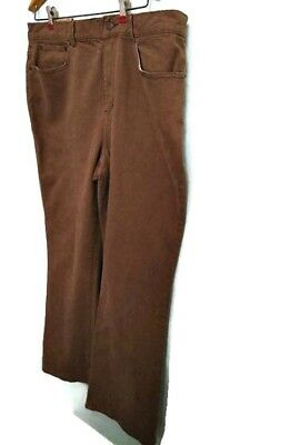 Ralph Lauren Light Brown Classic Boot-cut Stretch Size 16  - 36 Waist Jeans