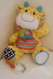 Mothercare giraffe baby toy