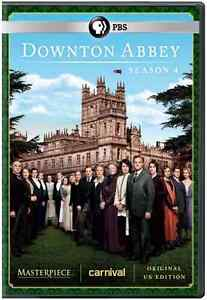 Masterpiece Classic: Downton Abbey: Fourth Season 4 (DVD, 2014, 3-Disc Set)