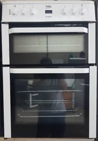 BEKO 60cm DOUBLE OVEN ELECTRIC COOKER *FREE LOCAL DELIVERY 3 MONTHS GUARANTEE*