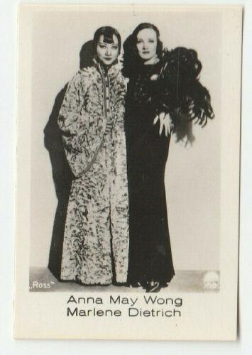 """Anna May Wong card 110 """"RAMSES film-photos"""" Jasmatzi Dresden 1933"""