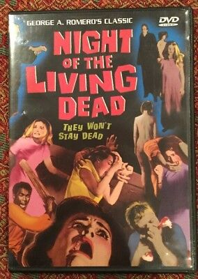 Night of the Living Dead DVD Movie 2002 Horror Zombie Scary Halloween - Halloween Night The Movie