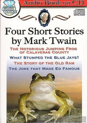 4 Mark Twain Short Stories Audio Book on CD Classic American Comedy - NEW (New Audio Book)