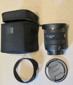 Sigma 10-20/3.5 ultra wide angle for Sony