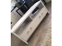 Light Grey TV Stand with drawers
