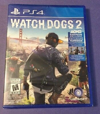 Watch Dogs 2 (PS4) NEW for sale  Shipping to Nigeria