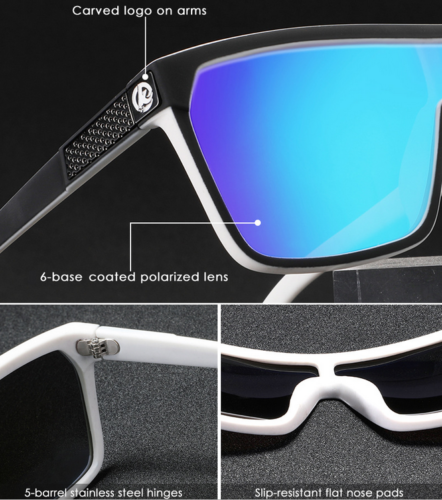 KDEAM Men/'s Large Frame Polarized Sunglasses Outdoor Riding Fishing Goggles New