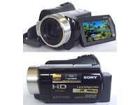 Sony HDR-SR10E 40 GB Camcorder - Black/Silver in excellent condition
