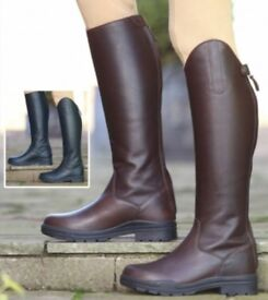 Womens horse riding boots size 6 brand new with tags