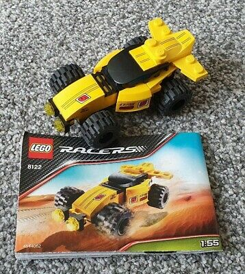 Lego Racers 8122 - Desert Viper. Complete with instructions