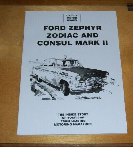 FORD+CONSUL+ZEPHYR+MARK+2+ROAD+TEST+REPRINT+BOOK+%2B+SERVICE+DATA+UNIQUE+MOTOR+BKS
