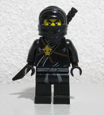 Cole 2112 2516 Black Ninja The Golden Weapons Ninjago LEGO Minifigure Figure