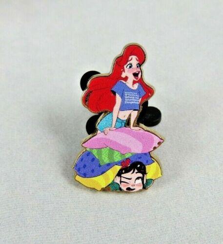 Disney Store Pin - Wreck It Ralph 2 - Ariel and Vanellope - Little Mermaid