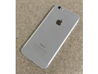 iPHONE 6 16GB, WITH SHOP RECEIPT & WARRANTY, GOOD CONDITION, UNLOCKED, SILVER