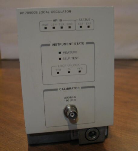 Agilent Keysight HP 70900B Local Oscillator