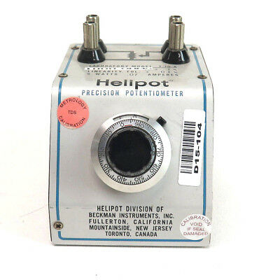 Helipot Precision Potentiometer Model T-10 T-10-a