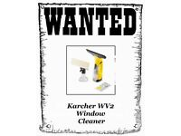 WANTED KÄRCHER WV2 WINDOW CLEANER