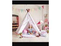 Kids teepee/wigwam/play tent
