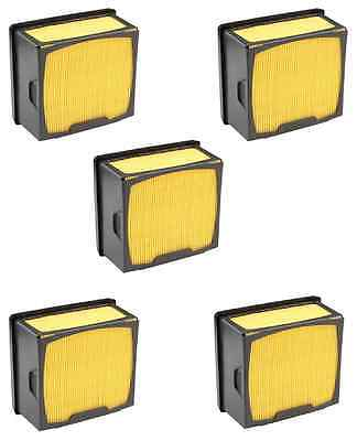 5 Air Filters For Husqvarna 525 47 06-02 525470602 605-618 14260 43963 Saw