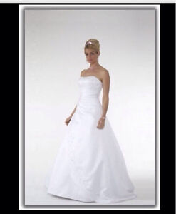 Barbra Calabro - Size 8        Dress, veil and hoop skirt Mount Ommaney Brisbane South West Preview