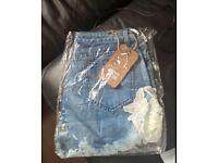 Ladies Denim Shorts size 12 (new, never worn)