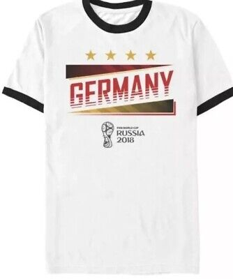 Germany Soccer World Cup Shirt Russia 2018 Sz. Large NEW image
