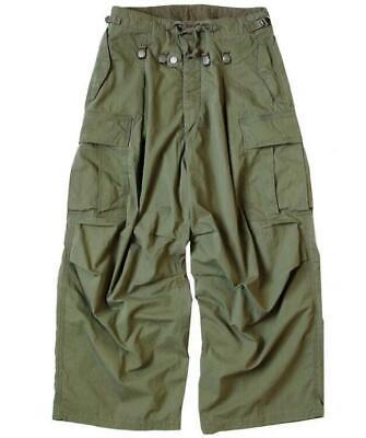 19AW AKITO KAPITAL  Retro Original Military Wide Leg Leisure Pants