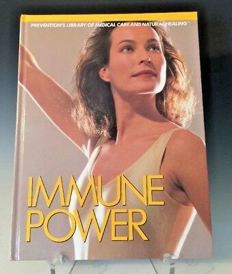 Immune Power Preventions Library Of Medical Care And Natural Healing Hc  1989