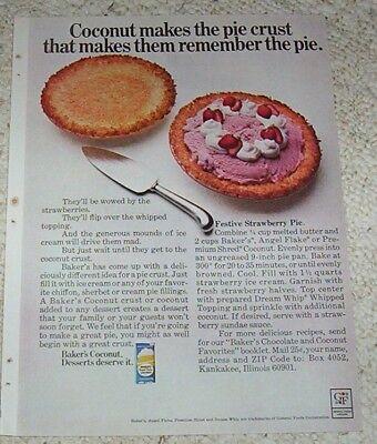 1969 vintage ad - Baker