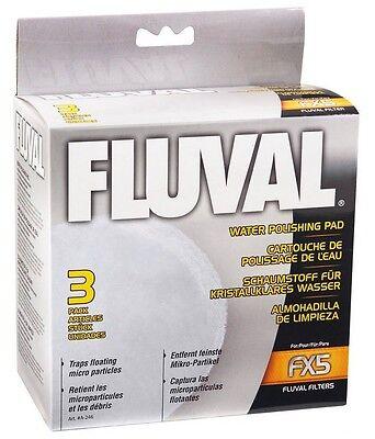 HAGEN FLUVAL FX5 FILTER FINE WATER POLISHING PAD 3PK. A-246
