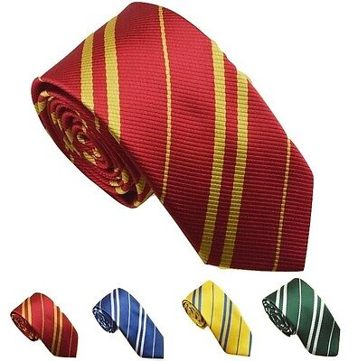 Harry Potter Tie Gryffindor Slytherin Ravenclaw Costume Accessory Halloween NEW](Halloween Harry Potter Costume Tie)