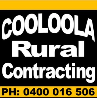 Cooloola Rural Contracting Gympie Gympie Area Preview