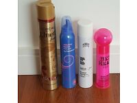 FOUR GREAT HAIR PRODUCTS - TREAT YOURSELF!