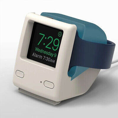 Retro Vintage iMac Apple Watch Night Stand Charging Dock Station * iWatch Mac UK