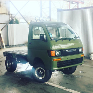 Right Side Drive Custom Daihatsu