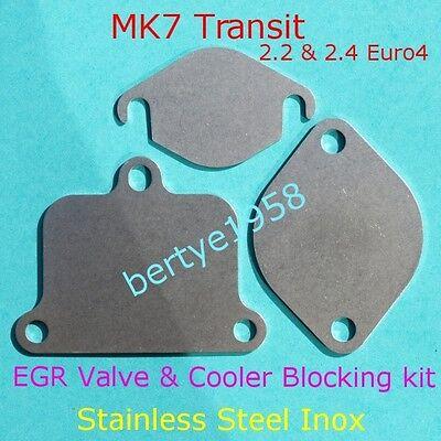 EGR Valve & Cooler Blanking Kit MK7 TRANSIT 2.2 2.4 TDCi Duratorq ZSD-422/4