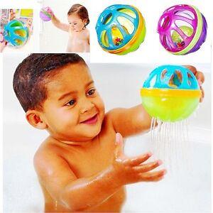 Baby Kid Child Bathing Grooming Toy Rattle Shake Strain