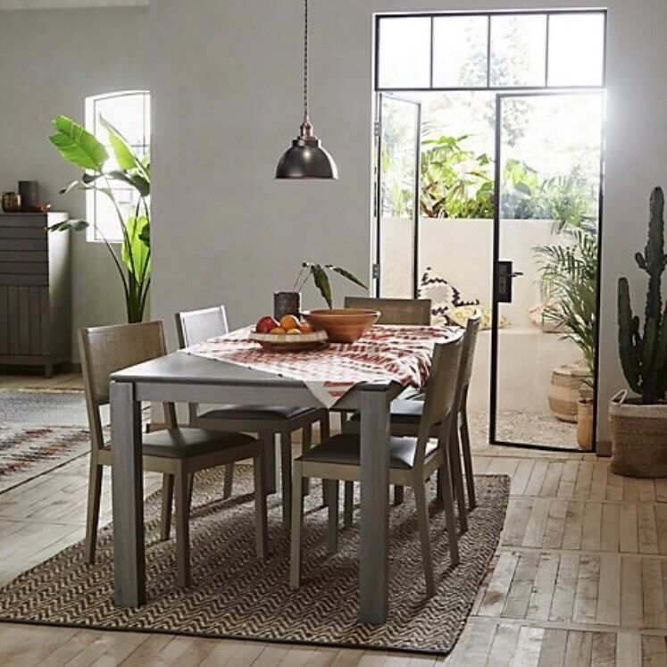 John Lewis Asha Dining Table Chairs Bench Matching Sideboard