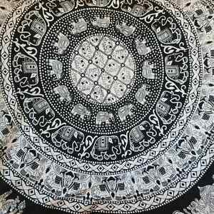 Beautiful Black and White Tapestry