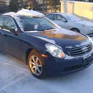 2006 INFINITI G35X COMES ETESTED