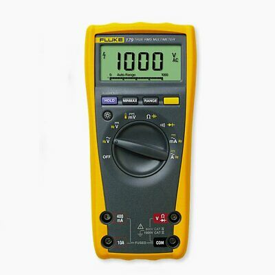 Fluke 179 1000v Acdc True Rms Thermometer Digital Electric Multi-meter Tester