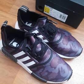 Adidas x Bape NMD R1 Black Camo