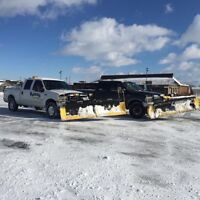 24 Hour Snow Removal and Salting Service