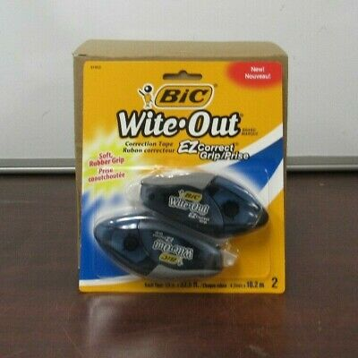 Wite-out Brand Ez Grip Correction Tape Case 0f 6  8b