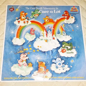Vintage Care Bears Record