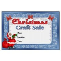 Christmas craft sale open house